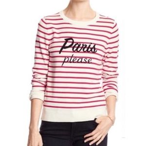 Banana Republic Paris Please Sweater, size XS